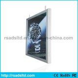 Personnalisé à deux côtés Slim LED Light Box Frame