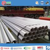 Pijp de van uitstekende kwaliteit van het Roestvrij staal ASTM TP304 voor Bouw