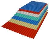 Chapa de aço ondulada/chapa de aço da cor (Q195, Q235)