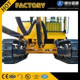 トラクターによって取付けられる試錐孔の掘削装置