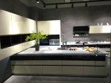 Modulare Küche-Entwurfs-Ausgangsmöbel Bäckerei angestrichene MDF-Küche-Schränke