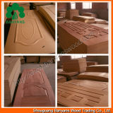 3mm Natural Veneered Door Skin с Sapele Ash Teak Red Oak Mahogany