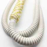 [1.8م] لون بيضاء أكريليكيّ نارجيلة [شيشا] [نرغيل] خرطوم أدوات ([إس-هّ-008])