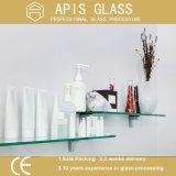 6 - 12 mm Badezimmer-Zubehör-an der Wand befestigte Schwimmen/ausgeglichenes Glas-Regal
