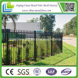 Puder Coated Tubular Spear Top Steel Fence für Security