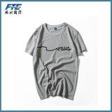 人は最上質のPimaの綿のTシャツを作る