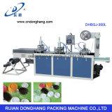 Cubierta plástica de la bebida de ahorro del espacio de Ruian que forma la máquina de la cubierta de la máquina