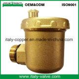 Le laiton personnalisé de qualité a modifié le robinet à tournant sphérique d'évent (IC-3092)