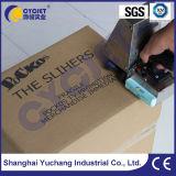 Impresora de inyección de tinta Handheld del carácter grande de Cycjet Alt382 en el cartón