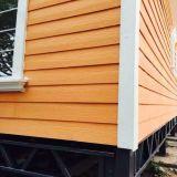 Panneau de voie de garage en bois normal australien de planche de recouvrement de la colle de fibre des graines de note de la CE