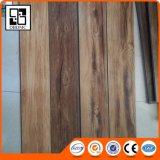 Plancher en bois foncé de vinyle de regard de chêne tinctorial dans le type de parties