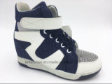 Вскользь повелительница спрятанная холстиной пятки Ботинок (ET-XK160231W)