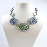 Joyería colorida de la manera de la pulsera del pendiente del collar de las piedras del nuevo diseño