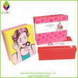 Косметическая бумажная коробка упаковки подарка