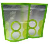 Nahrung Transparent Fastfood- Pouch mit Zipper
