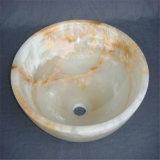 装飾的な極度の品質の大理石またはオニックスの流しのボールおよび洗面器