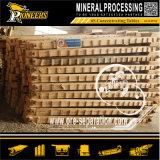 Kleinbergbau-Erz-Aufbereiten, Tisch-Goldförderung-Gerät rüttelnd
