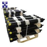 Dianteiro-Derrubando o cilindro hidráulico da cubeta