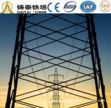 башня передачи силы линейного угла 35kv стальная