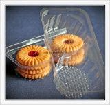 Torta de la máquina de embalaje caja de plástico