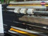 Máquina rebobinadora de película de plástico de alta velocidade