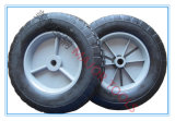 8X1.75 중국 Top Quality Wheelbarrow Solid Rubber Wheels