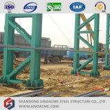 Latice 단면도 란 Prefabricated 강철 구조물 작업장