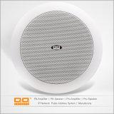 Intérieur rond ABS Plastique Blanc Montage au plafond Haut-parleurs Bluetooth