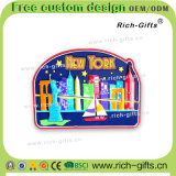 Kundenspezifische fördernde Geschenk-Dekoration-umweltfreundliche Kühlraum-Magnet-Andenken New York (RC-US)