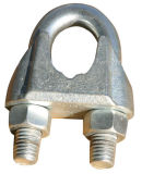 DIN 741電子電流を通された可鍛性ワイヤーロープクリップ