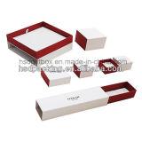 Caja de regalo al por mayor del embalaje del papel de la joyería