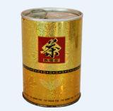 Boîte de Cylinderical de qualité avec le couvercle et le plateau pour le thé