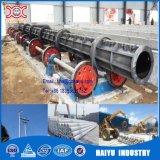 Ligne tournée concrète de production à la machine de Pôle de normes du Bangladesh