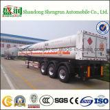 Schlussteil des Behälter-Gefäß-CNG für komprimierten Erdgas-Speicher-Tanker-halb Schlussteil