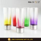 Schuss-Glas-Geschenk des tireur-60ml eingestellt mit starkem metallhaltigem