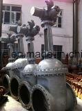 DINの鋳造物鋼鉄ギヤによって作動させるDn700 Pn25ゲート弁