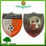 Pin inoxidable promotionnel de revers de fer de forme ronde de Zhongshan
