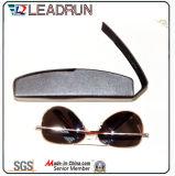 Óculos de couro de óculos de metal Caixa de vidro Caixa de óculos Caso de óculos óculos ópticos Case (Hx291)