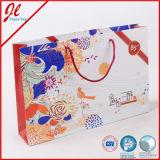 Хозяйственная сумка подарка Costomized роскошного слоения бумажная с рукой