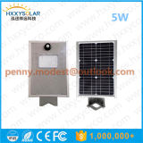 Свет датчика улицы IP68 5W-120W интегрированный СИД солнечный с дистанционным управлением для сада