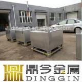 1000 Behälter des Liter-Zylinder-Edelstahl-IBC