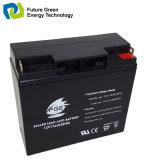 batería de plomo sellada recargable de la energía solar 12V12ah para la linterna
