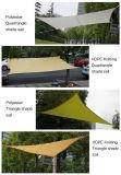 Voile d'ombre de HDPE de mèche de Gardeng de yard de piscine Anti-UV