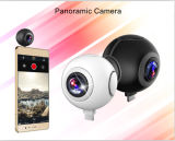 720 DoppelLensdegree panoramische Kamera des Grad-reale 360