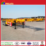 3개의 차축 20ft 40ft Skeleton Container Semi Trailer