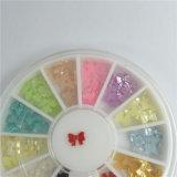 decorazione di arte del chiodo di colore della miscela di riga 3D per il chiodo