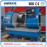Surtidor Awr2840 de la cortadora del torno de la rueda de la aleación del CNC