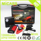 Dispositivo d'avviamento portatile multifunzionale portatile potente del ponticello accumulatore per di automobile