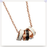 Madame Fashion Necklace (NK236) de bijou d'acier inoxydable