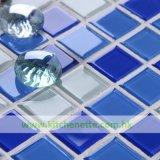 Плитка мозаики с нашивками в голубом и белизне (WH-D618)